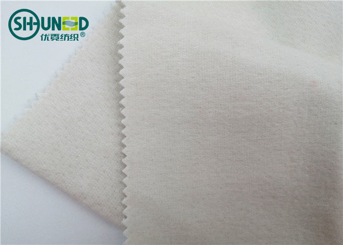 Men Woven Tie Interfacing Fabric 380gsm Weight 50 - 60 M/Roll Eco - Friendly