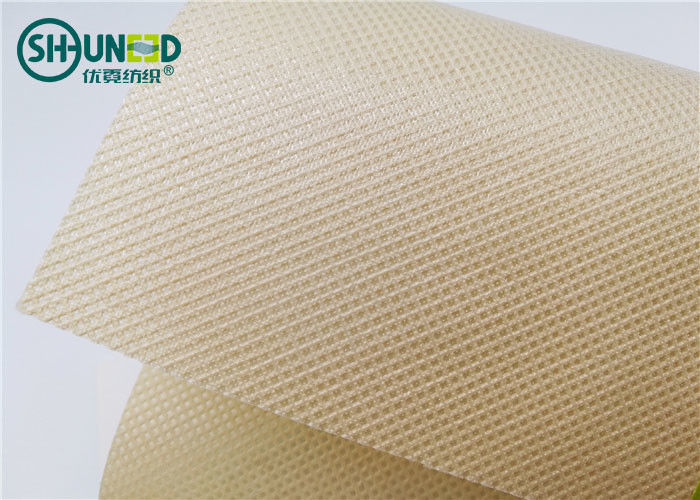 Hydrophilic Polypropylene Spunbond Nonwoven Fabric With PE Film Lamination Square Pattern