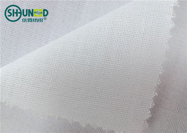 China 120gsm fusión adhesiva tejida fusible suave del PES que interlinea que interlinea/LDPE fábrica